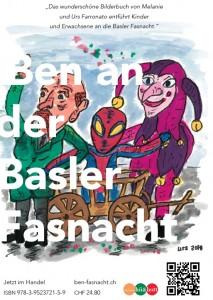 Ben an der Basler Fasnacht